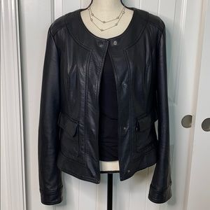 Kut from the Kloth Jackets & Coats - Kut from the Kloth vegan Leather Jacket Large